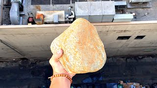 What Happens to a Rock When Dropped From 100ft?? -WillitBREAK?