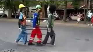 Bad Michael jackson dance with puppets