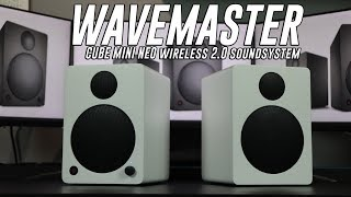 Speakers with a PUNCH! - WAVEMASTER CUBE MINI NEO