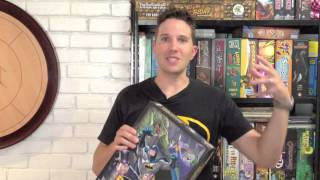 Batman Gotham City Strategy Game Review - with Scott