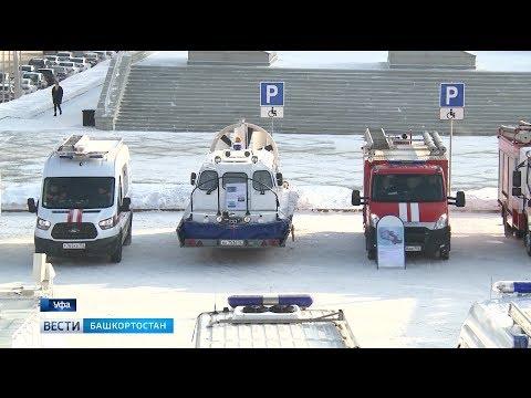 Спасателям республики передали новый снегоболотоход