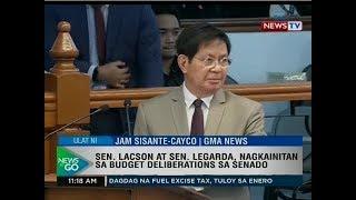 NTG: Sen. Lacson at Sen. Legarda, nagkainitan sa budget deliberations sa Senado