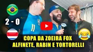 🔴OLHA o que FÁBIO RABIN falou do jogo do BRASIL 2x0 COSTA RICA   ReVEJA Sports ᴴᴰ