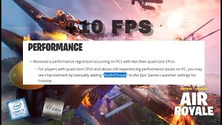 fortnite additional command line arguments fps boost season 8 - TH-Clip