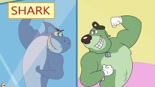 Rat-A-Tat |'Dog & Shark AQUARIUM Fish Cartoons Compilation'| Chotoonz Kids Funny Cartoon Videos