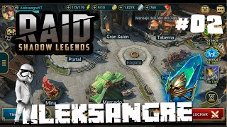 RAID SHADOW LEGENDS - Dia 2 - GAMEPLAY ESPAÑOL HD