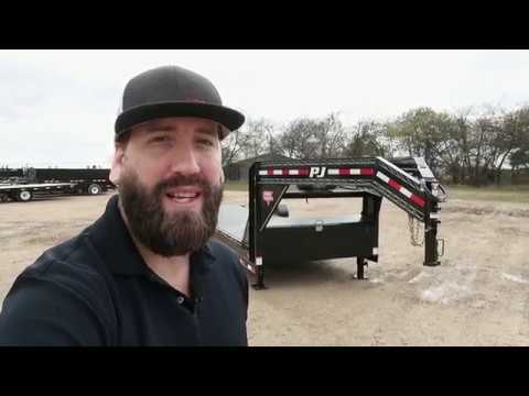 2019 PJ Trailers CARHAULER/EQUIP TILT TRAILER in Hillsboro, Wisconsin - Video 2