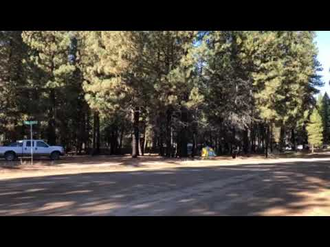 Ice Springs Campground overview