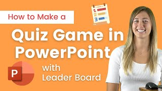 How to Make an Interactive Quiz Game in PowerPoint [ Live Leader Board ]