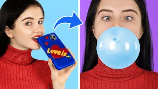 8 DIY Edible Phone Cases / Edible Pranks