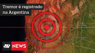 Argentina conta os prejuízos após o terremoto de magnitude 6,4