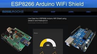 Arduino - Webserver with an Arduino Ethernet Shield