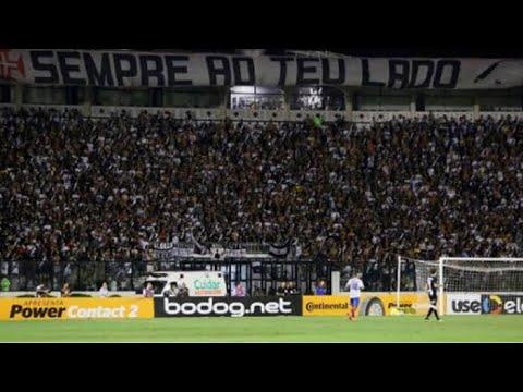 """""""Vasco 2 x  0 SÃO PAULO, show da torcida do vasco"""" Barra: Guerreiros do Almirante • Club: Vasco da Gama"""