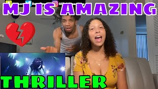 FIRST TIME REACTION to Michael Jackson - Thriller - Live Munich 1997 💗🔥💗🔥