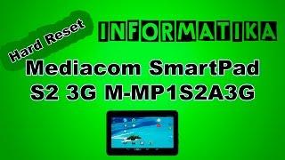 Tablet Mediacom SmartPad S2 3G M-MP1S2A3G Virus Errore | Hard Reset