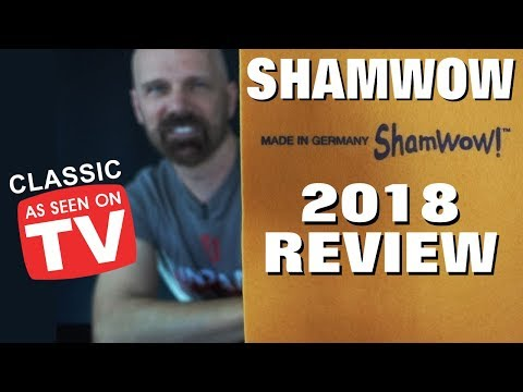 ShamWow Review 2018! As Seen on TV Classic!