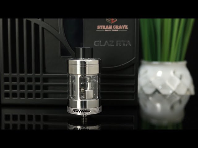 SteamCrave Glaz V2 RTA | Review | Build & Wick