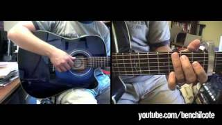 How to play Untitled Hymn (Come to Jesus) by Chris Rice on guitar