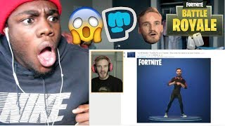 ⍣CONFIRMED⍣ PewDiePie is in Fortnite. - Season 7 by PewDiePie  REACTION!!!