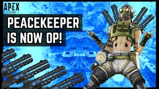 WHAT THE BUFFED PEACEKEEPER NOW FEELS LIKE! After Patch 3.1 Apex Legends