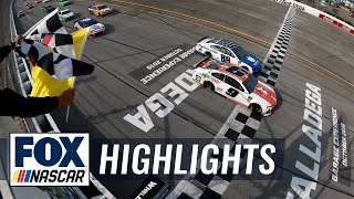 2019 GEICO 500 At Talladega Full Highlights | NASCAR On FOX HIGHLIGHTS