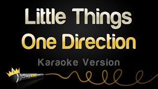 One Direction   Little Things (Karaoke Version)