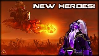 Two NEW Dota Heroes! What Do They Do?!