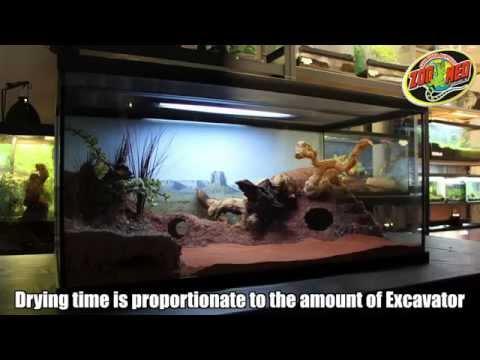 The Excavator Clay Burrowing Substrate By Zoo Med (Video)