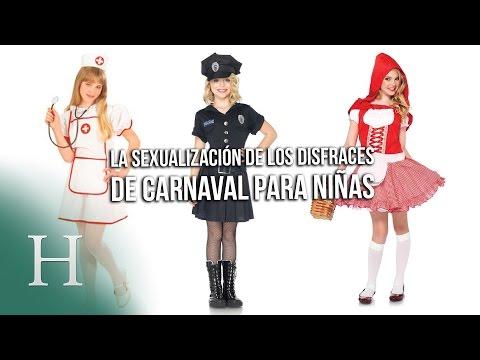 La sexualización de los disfraces para niñas en carnaval