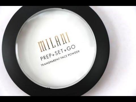 Milani Prep + Set + Go Transparent Face Powder Review