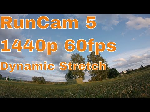 RunCam 5 Default Settings 1440p 60fps Dynamic Stretch Sample Footage 5/8