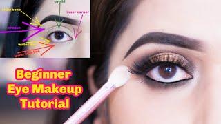 Beginner Eye Makeup Tutorial   কোন ব্রাশ ব্যবহার করবে আর সেই সাথে অনেক টিপস   Shahnaz Shimul 2020