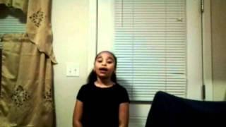 Timyra Anaiz Jones singing So I Cried by Anna Gracemen