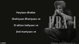 I'm Better Now (Lyrics) - Sidhu Moosewala | Snappy