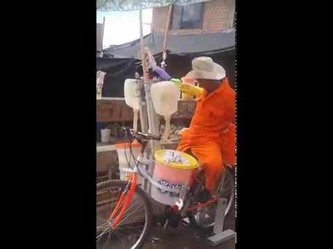 La nueva máquina de jugos de naranja