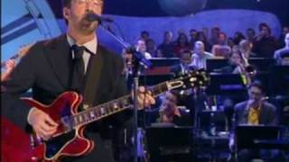 "Dave Swift on Bass with Jools Holland backing Eric Clapton ""Reconsider Baby"""
