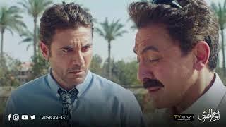 مسلسل أبو عمر المصري - استغراب فخر من كلام و انفعالات سمير العبد في المقابلة الأولي بسبب القضية