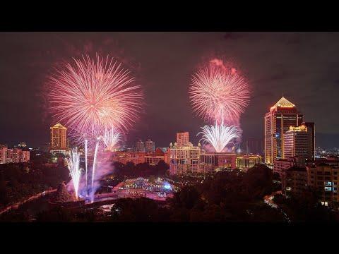 Spectacular Fireworks Display 2020 @ Sunway City Kuala Lumpur