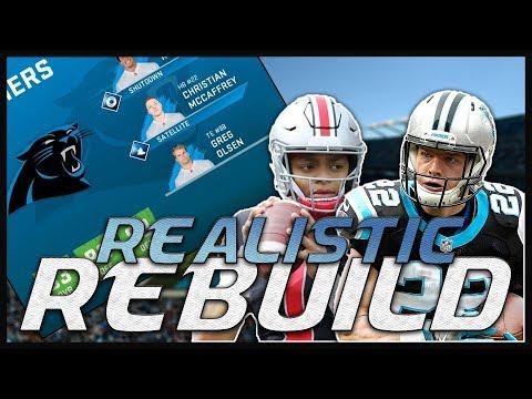 Justin Fields for MVP! | Madden 20 Carolina Panthers Realistic Rebuild