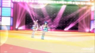 (HD) Pretty Rhythm Rainbow Live - Naru Ayase & Rinne - BOY MEETS GIRL (episode 4)