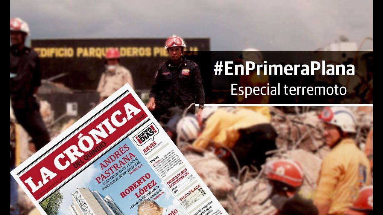 En Primera Plana: especial terremoto