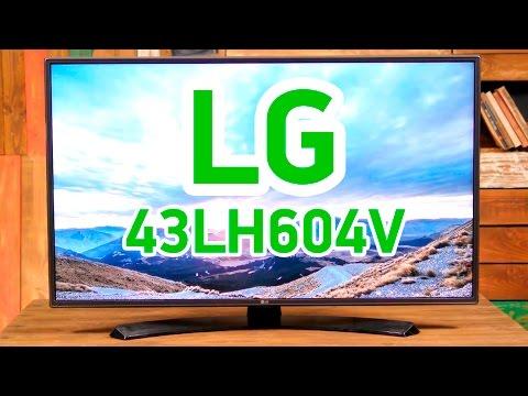 """LG 43LH604V - """"умный"""" телевизор с качественным изображением - Видео демонстрация"""