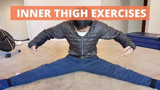 Inner thigh exercises for hip pain - adductor exercise options