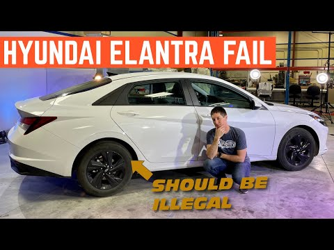 The 2021 Hyundai Elantra Should Be ILLEGAL *Self Wrecking Feature*