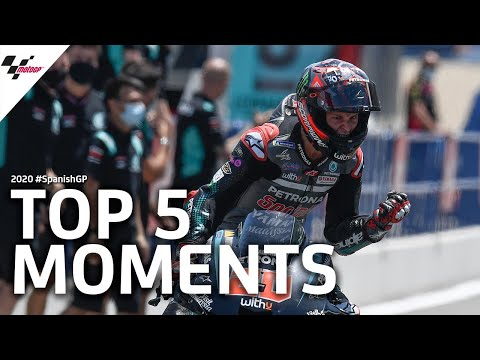 MotoGP スペインGP レースハイライト動画