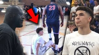 LaMelo Ball Disrespected in Front Of Shaq! Then Turns into a 6'8 Point God!