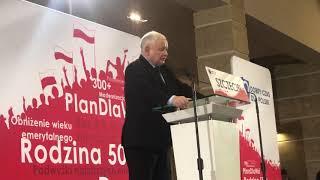 Jarosław Kaczyński w Szczecinie: całkowite odrzucenie ideologii GENDER I LGBT!