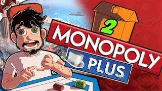 QUICKEST MONOPOLY in HISTORY! | Railroads vs Oranges! (Monopoly Plus - Part 2)