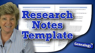 How to Create a Genealogy Research Notes Template in MS Word