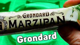 Батончик Grondard марципановый яблоко корица Попробуем еще одну шоколадку - батончик со вкусом яблока и  корицы, вкус вкупе которого получается амаретто. Что такое  марципановый вкус я не знаю, потому анализировать будем